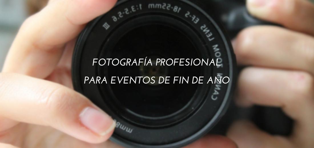 Fotografía profesional para eventos de fin de año